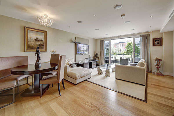 3 Bedrooms Apartment Flat for sale in Banyan House, Lensbury Avenue, Imperial Wharf, Fulham
