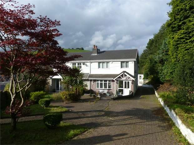 3 Bedrooms Semi Detached House for sale in The Shieling, Blackmill, Bridgend, Mid Glamorgan
