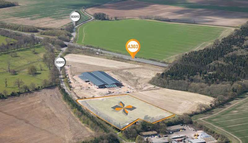 Land Commercial for sale in 303 Interchange (100,000 Sq Ft), Warminster, BA12 6LA