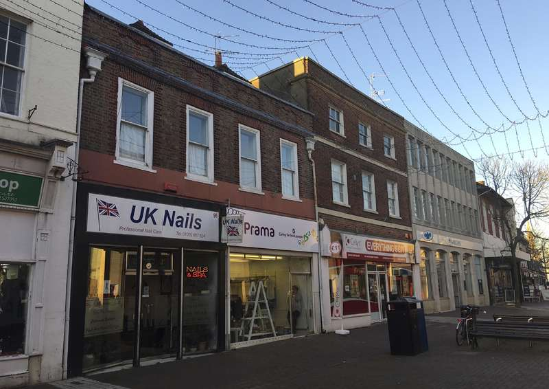 Commercial Development for sale in 96-96a High Street (inv), Poole, BH15 1DB