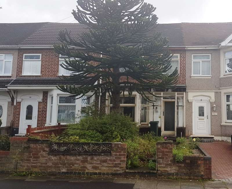 2 Bedrooms Terraced House for sale in Grangemouth Road, Coventry, West Midlands, CV6 3FE