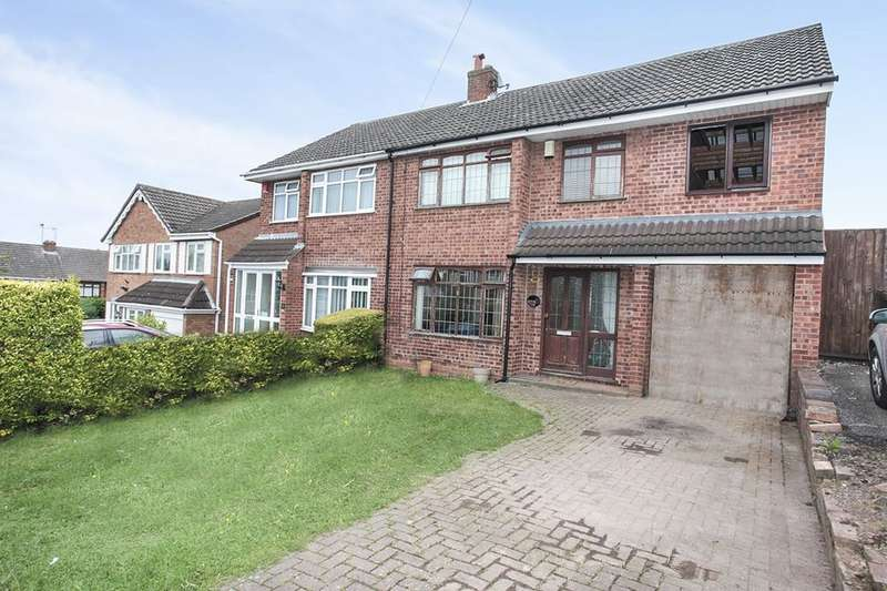 3 Bedrooms Semi Detached House for sale in Berwyn Way, Nuneaton, CV10