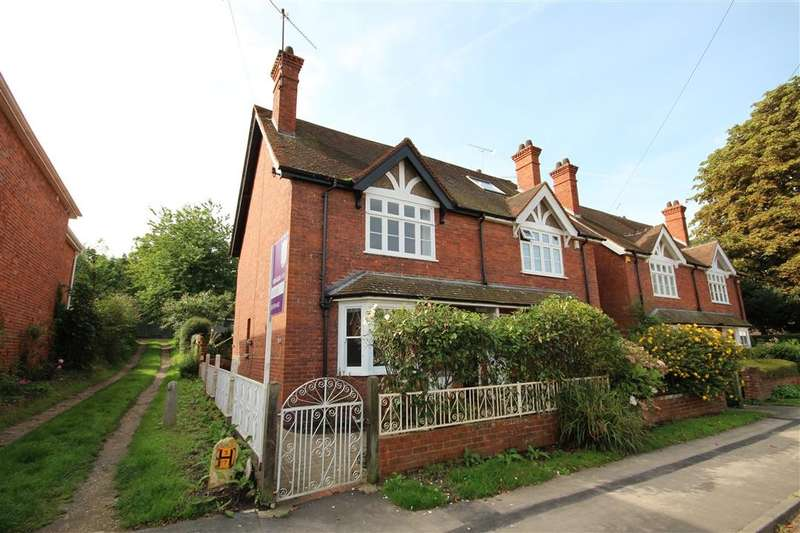 3 Bedrooms Semi Detached House for sale in Braybrooke Road, Wargrave, RG10