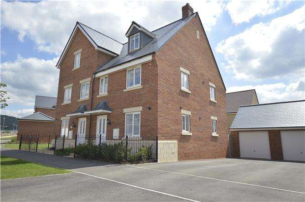 4 Bedrooms Semi Detached House for sale in Vale Road, Bishops Cleeve, GL52 8ER