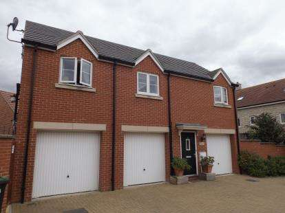 2 Bedrooms Maisonette Flat for sale in Old Sarum, Salisbury, Wiltshire