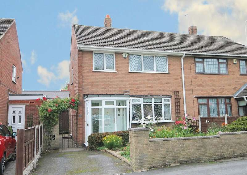 3 Bedrooms Semi Detached House for sale in Brook End, Fazeley, Tamworth, B78 3RR