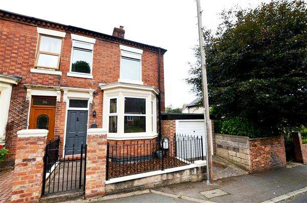 3 Bedrooms Semi Detached House for sale in Regent Street, West End, Stoke on Trent