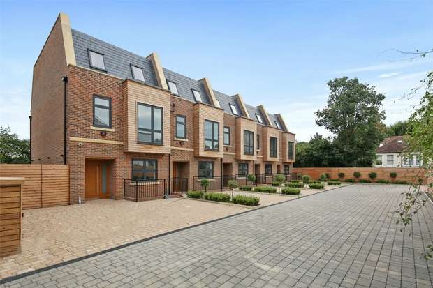 4 Bedrooms End Of Terrace House for sale in King Edwards Mews, King Edwards Gardens, Acton