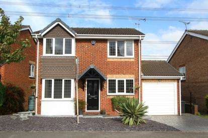 4 Bedrooms Detached House for sale in Meadow Gate Avenue, Sothall, Sheffield, South Yorkshire