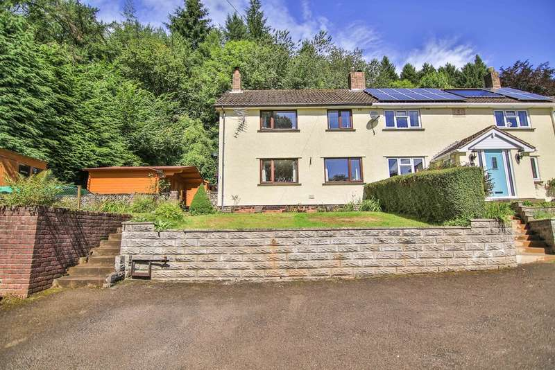 3 Bedrooms Semi Detached House for sale in Heol-Y-Fforest, Castle Road, Tongwynlais