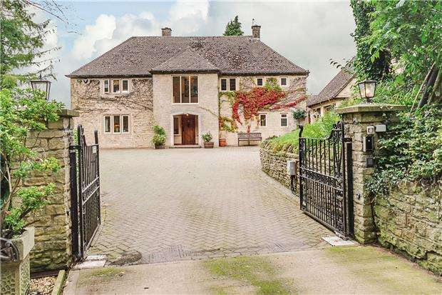 4 Bedrooms Detached House for sale in Overdale House, Taits Hill, Stinchcombe, DURSLEY, Gloucestershire, GL11 6PS