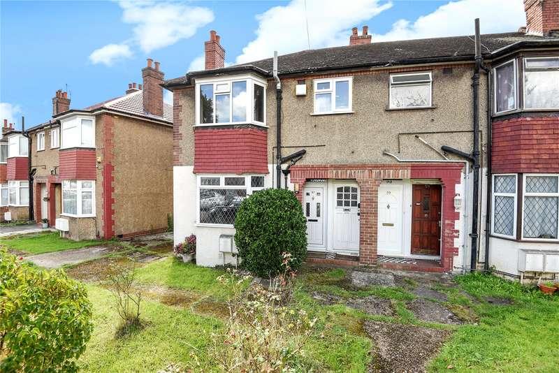 1 Bedroom Maisonette Flat for sale in Reading Road, Northolt, Middlesex, UB5