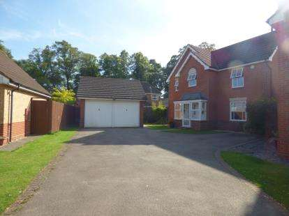 4 Bedrooms Detached House for sale in Hornbeam Close, Leicester, Leicestershire