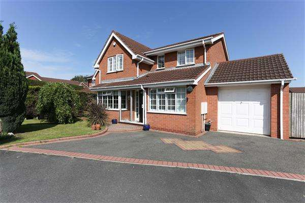 4 Bedrooms Detached House for sale in Smiths Way, Water Orton