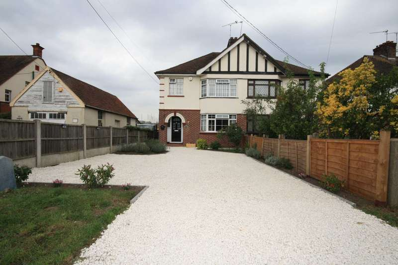 3 Bedrooms Semi Detached House for sale in High Road North, Laindon