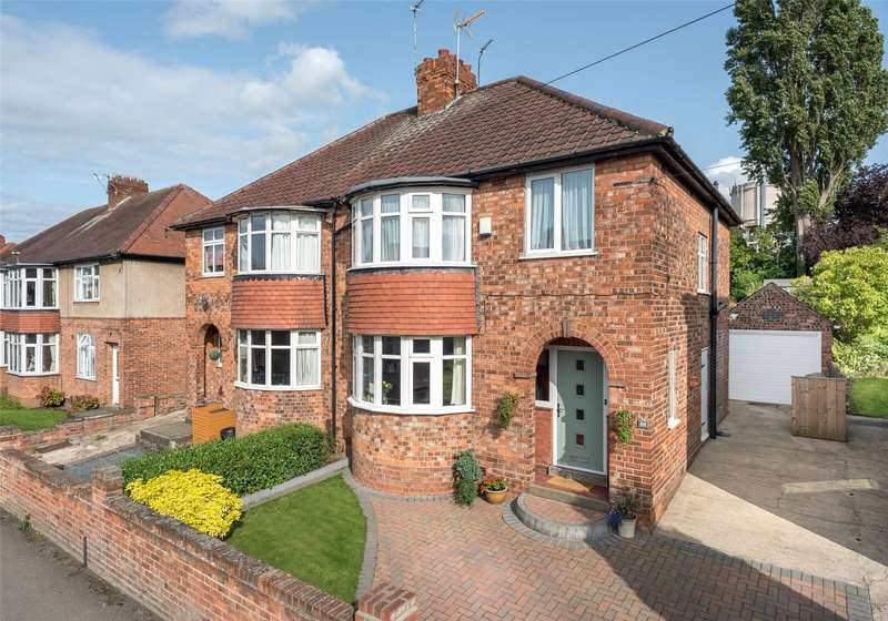 3 Bedrooms Semi Detached House for sale in Manor Drive North, York, North Yorkshire, YO26