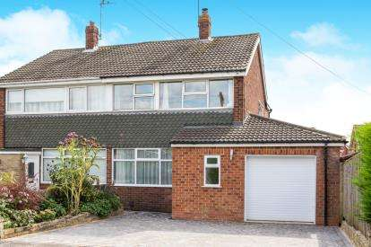 3 Bedrooms Semi Detached House for sale in Aspin Drive, Knaresborough, North Yorkshire