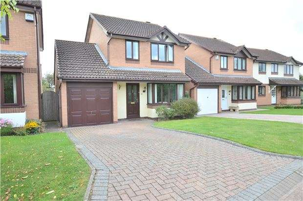 3 Bedrooms Detached House for sale in Alverton Drive, Bishops Cleeve, GL52 8TD