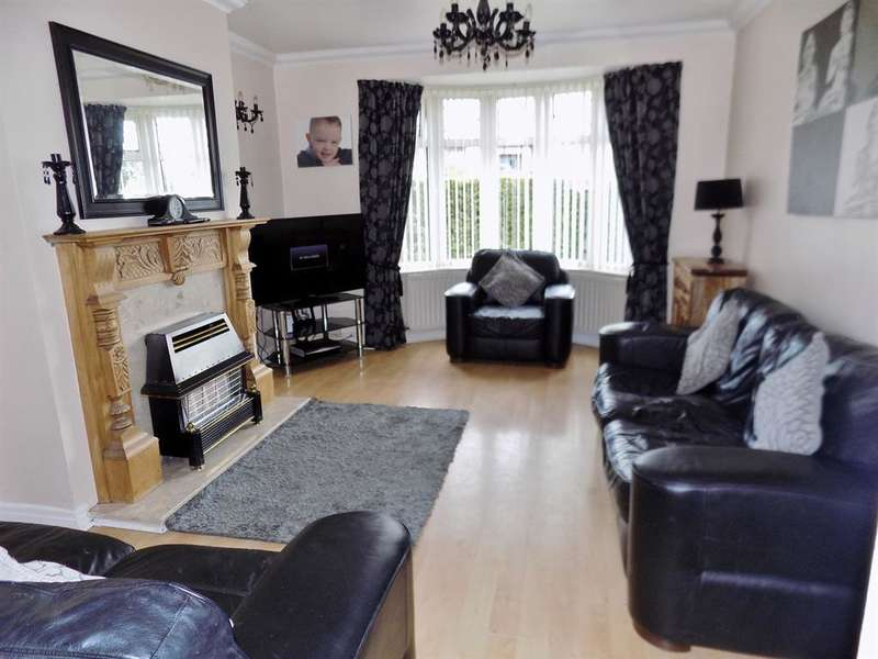 3 Bedrooms Semi Detached House for sale in Grays Road, Grangefield, Stockton-on-Tees, TS18 4LJ
