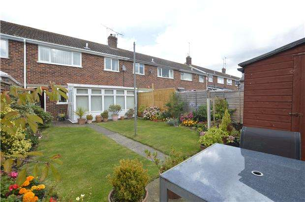 3 Bedrooms Terraced House for sale in Howard Close, TEWKESBURY, Gloucestershire, GL20 8QT