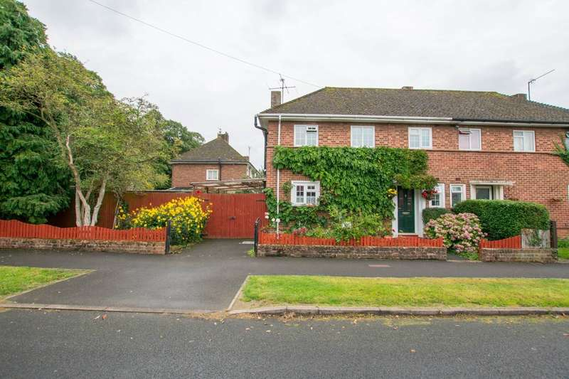 3 Bedrooms Semi Detached House for sale in Meadoway, Bishops Cleeve, Cheltenham, GL52 8NB