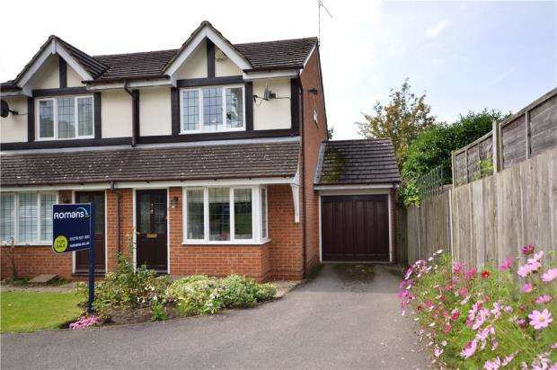 2 Bedrooms Semi Detached House for sale in Butterfields, Camberley, Surrey