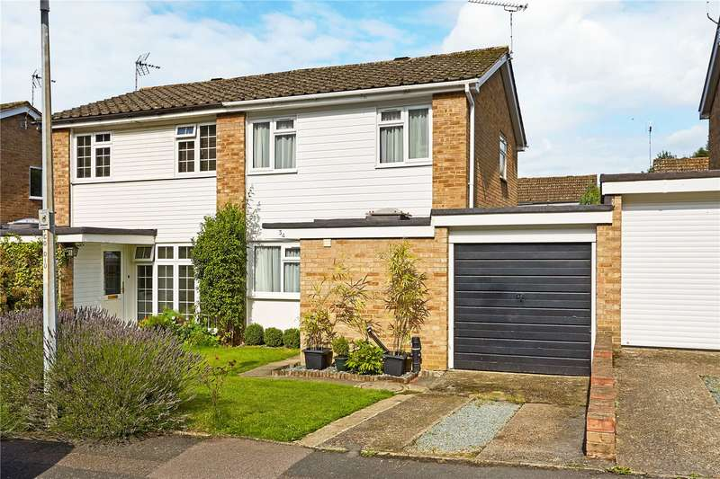 3 Bedrooms Semi Detached House for sale in Pontoise Close, Sevenoaks, Kent, TN13