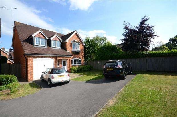 4 Bedrooms Detached House for sale in The Laurels, Woodley, Reading