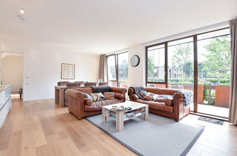 3 Bedrooms Ground Flat for sale in Cabanel Place, Kennington, SE11