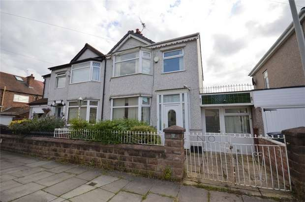 3 Bedrooms Semi Detached House for sale in Sandringham Close, New Ferry, Merseyside