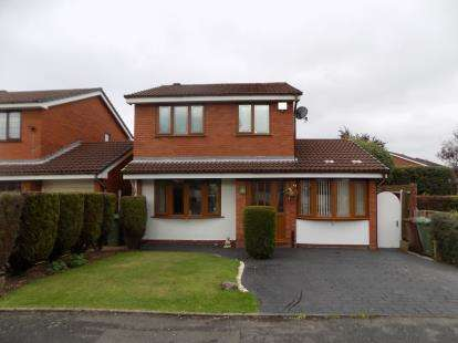 3 Bedrooms Detached House for sale in Mallard Close, Walsall, West Midlands