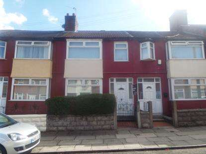 3 Bedrooms Terraced House for sale in Rossall Road, Old Swan, Liverpool, Merseyside, L13