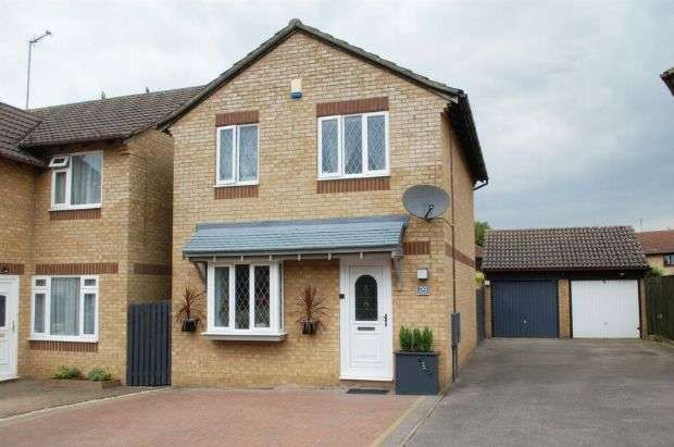 3 Bedrooms Detached House for sale in Provence Court, Duston, Northampton NN5 6EH