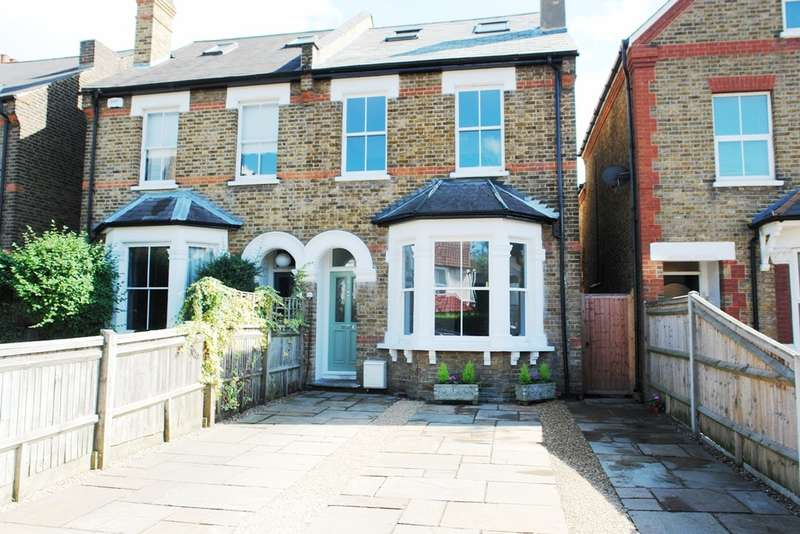 5 Bedrooms Semi Detached House for sale in Ditton Road, Surbiton