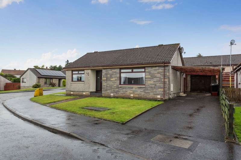 2 Bedrooms Bungalow for sale in Cameron Crescent, Cumnock, East Ayrshire, KA18 3TA