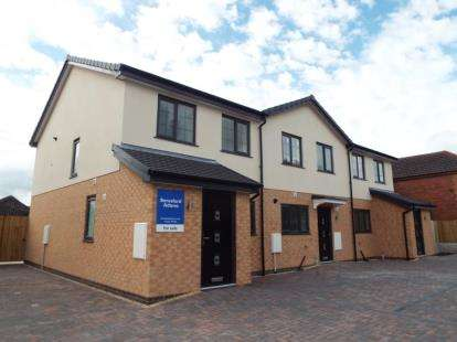3 Bedrooms Mews House for sale in Boundary Row, Jubilee Road, Buckley, Flintshire, CH7