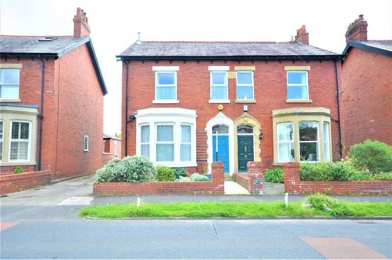 4 Bedrooms Semi Detached House for sale in Highcross Road, Poulton Le Fylde, Blackpool, Lancashire, FY6 8BA
