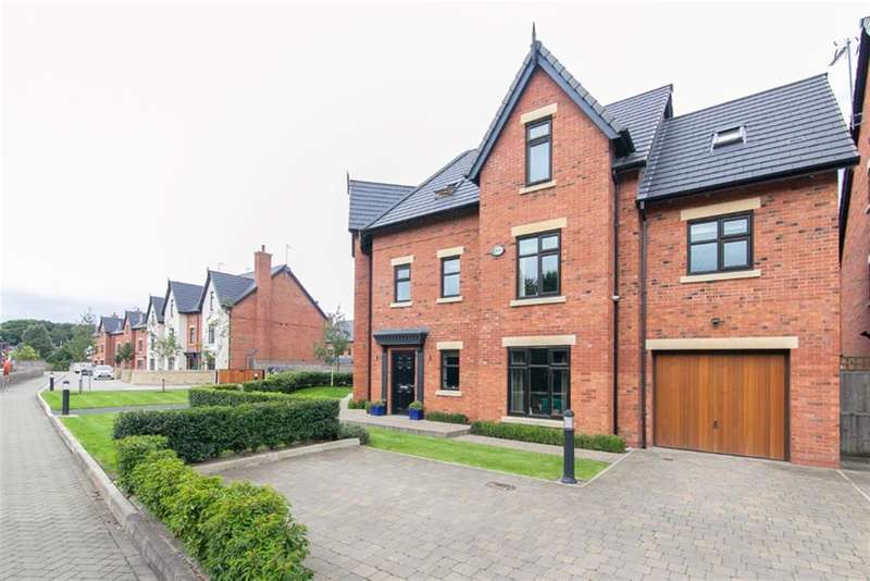 5 Bedrooms Detached House for sale in Waters Way, Worsley, Manchester, M28 2AH