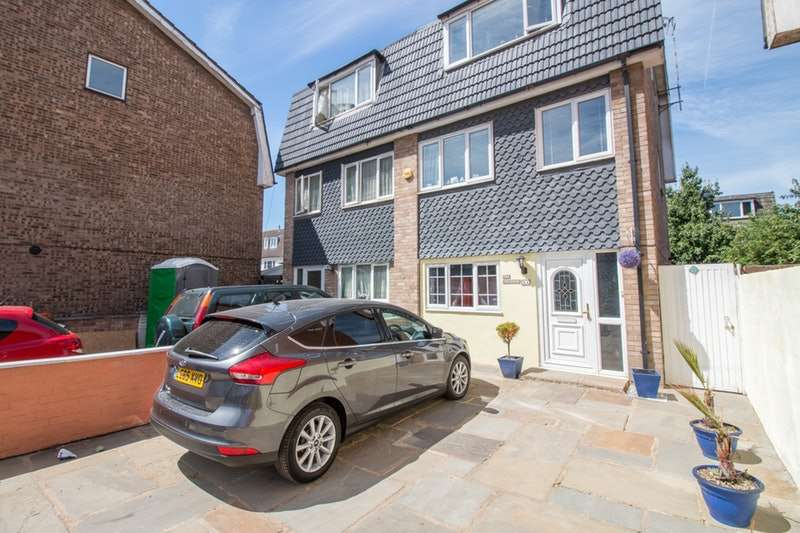 4 Bedrooms Semi Detached House for sale in Atkinson Road, London, London, E16