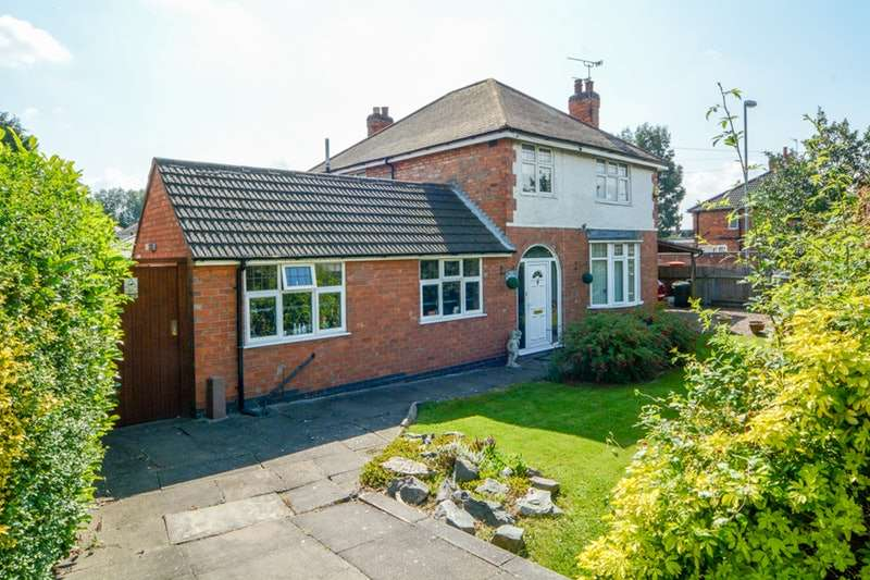4 Bedrooms Detached House for sale in Narborough Road South, Leicester, Leicestershire, LE3