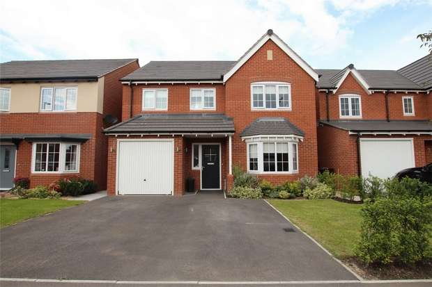 4 Bedrooms Detached House for sale in Sutton Crescent, Barton under Needwood, Burton-on-Trent, Staffordshire