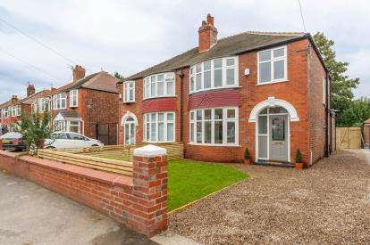 3 Bedrooms Semi Detached House for sale in Brantingham Road, Chorlton Cum Hardy, Greater Manchester