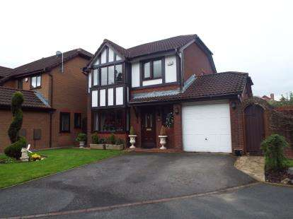 3 Bedrooms Detached House for sale in Heatherway, Fulwood, Preston, Lancashire