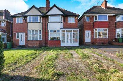 3 Bedrooms Semi Detached House for sale in Hardwick Road, Solihull, Birmingham, West Midlands