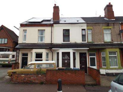 3 Bedrooms Terraced House for sale in Foleshill Road, Foleshill, Coventry, West Midlands