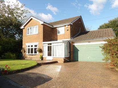 4 Bedrooms Detached House for sale in Langham Close, Sharples, Bolton, Greater Manchester, BL1