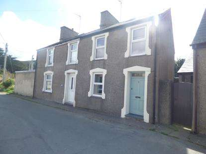 2 Bedrooms Semi Detached House for sale in Tan Y Maes, Stryd Y Plas, Nefyn, Pwllheli, LL53