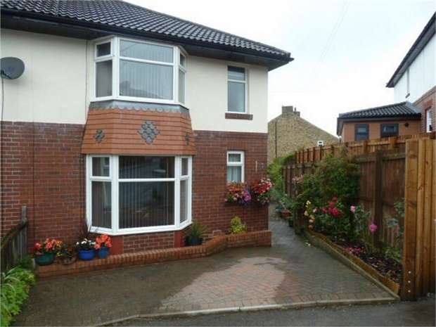 2 Bedrooms Semi Detached House for sale in Moorlands Crescent, Consett, Durham