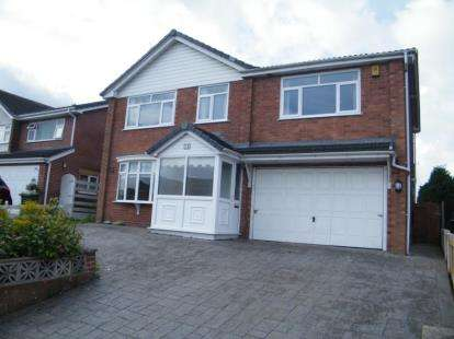 4 Bedrooms Detached House for sale in Beeston Drive, Winsford, Cheshire