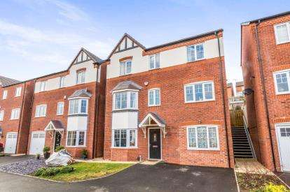 4 Bedrooms Detached House for sale in Caban Close, Birmingham, West Midlands